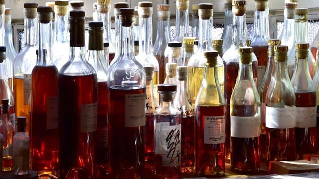 Les ventes de Cognac sont faites à 98% à l'export.