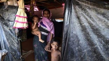 Photo prise le 22 septembre 2017 au Bangladesh