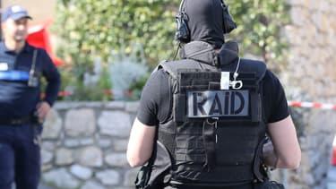 Le RAID est intervenu à Alès (PHOTO D'ILLUSTRATION).