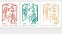 Le nouveau timbre Marianne, au visage jeune semblant sortir tout droit d'une bande dessinée.