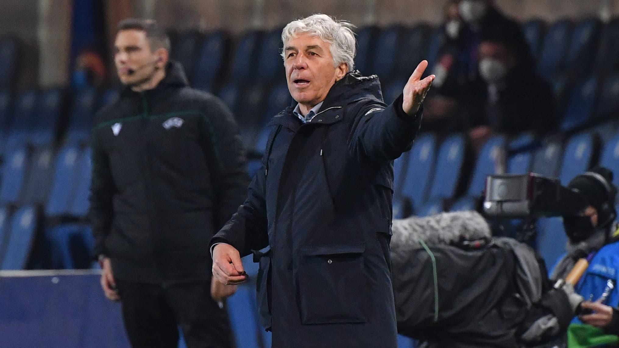 Atalanta-Real: furieux contre l&#39;arbitrage, Gasperini parle de &quot;suicide du <b>football</b>&quot;