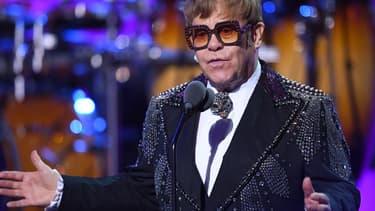 "Elton John sur scène durant ""Elton John: I'm Still Standing - A GRAMMY Salute"""