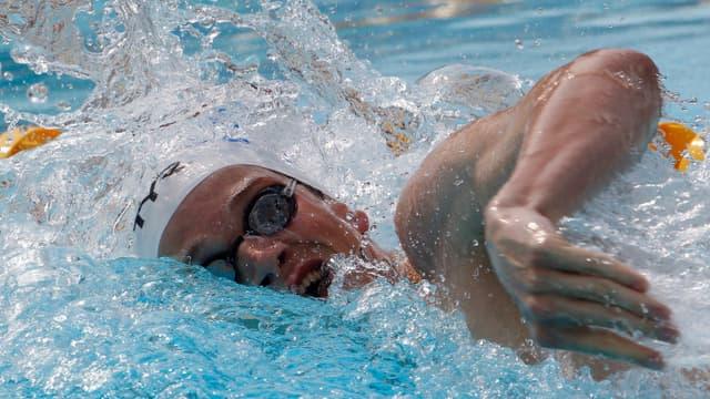 Yannick Agnel sera l'un des relayeurs français en finale du 4x100m nage libre