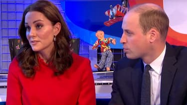 "Kate Middleton et le prince William dans l'émission pour enfants ""Blue Peter"""