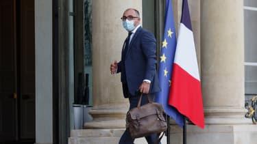 Le vice président du Conseil français du culte musulman (CFCM) Ibrahim Alci, s'est rendu à l'Elysée pour rencontrer Emmanuel Macron, le 19 octobre 2020.