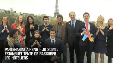 Partenariat Airbnb – JO 2024 : Estanguet tente de rassurer les hôteliers
