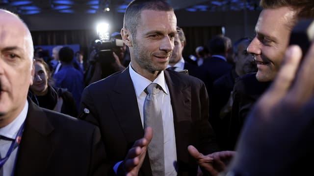 Aleksander Čeferin, le président de l'UEFA