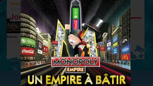 Dans Monopoly Empire, les joueurs doivent monter une multinationale.