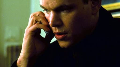 Matt Damon dans La Mémoire dans La Peau