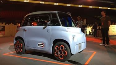Citroën lance son quadricyle électrique sans permis, l'Ami.