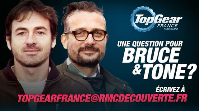 Posez toutes vos questions à Bruce et Tone, ils vous répondent en direct le 10 février.