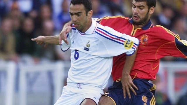 Euro 2000 : Djorkaeff face à Guardiola