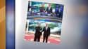 La version de la photo diffusée par la chaîne Rossiya-1, et celle des autres médias.