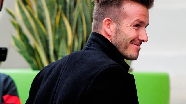 David Beckham à Valence