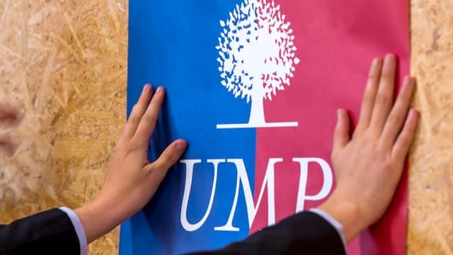 Le logo de l'UMP. Les élus ne sont pas tous d'accord sur le sort à réserver à la loi sur le mariage pour tous
