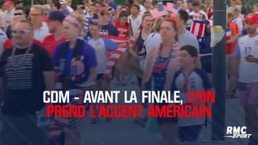 Coupe du monde féminine - Avant la finale, Lyon prend l'accent américain