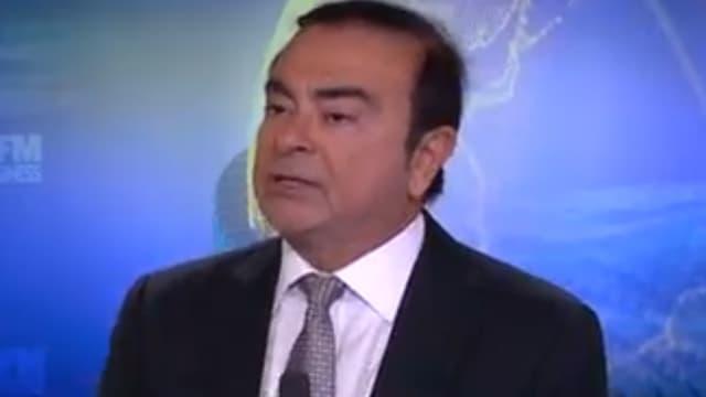 Carlos Ghosn était l'invité de BFM Business.