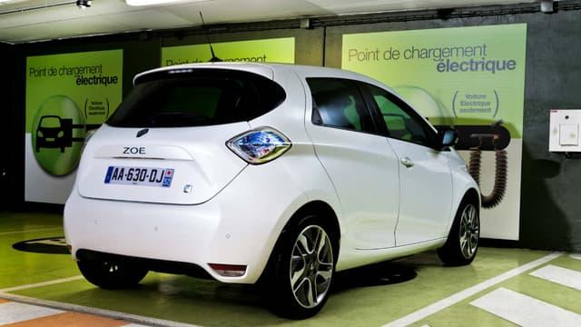 La Renault Zoé est rappelée pour la première fois  pour une éventuelle défaillance au niveau du système de frein.