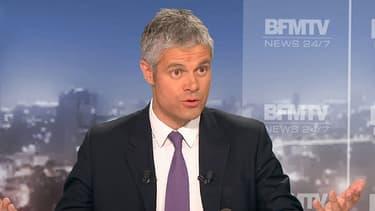 Laurent Wauquiez sur BFMTV dimanche 26 mai.