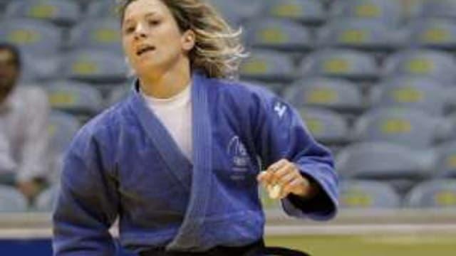Telma Monteiro, la porte-drapeau du Portugal