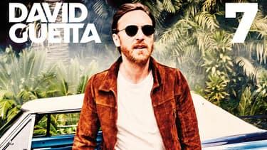 David Guetta sur la couverture de son nouvel album