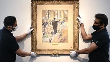 """""""Une opération par le Docteur Péan à l'Hôpital International"""", un tableau rare de Toulouse-Latrec vendu en juin aux enchères"""
