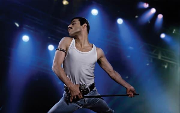 "Rami Malek incarne Freddie Mercury dans ""Bohemian Rhapsody"", en salles le 26 décembre 2018"