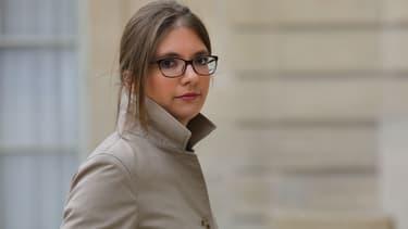 Aurore Bergé le 25 novembre 2017 à l'Élysée