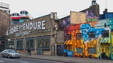 Shoreditch, quartier tendance de Londres.