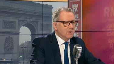 Richard Ferrand sur BFMTV et RMC, le 2 avril.