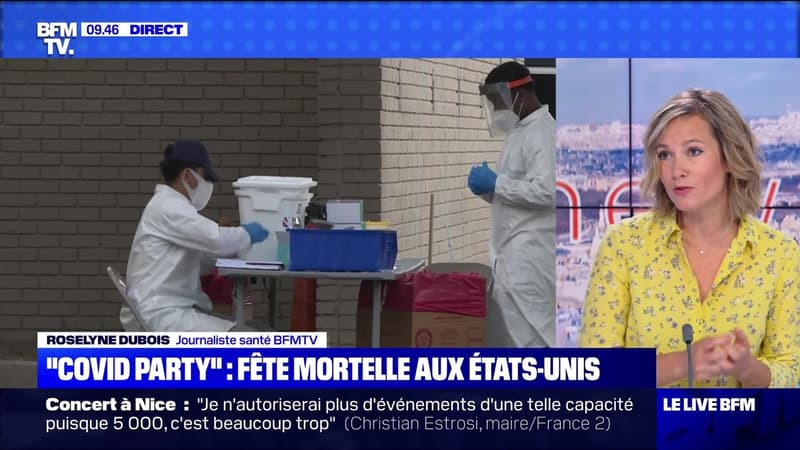 """Covid party"": fête mortelle aux Etats-Unis - 13/07"