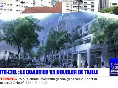 Villeurbanne: le quartier Gratte-ciel va doubler de volume