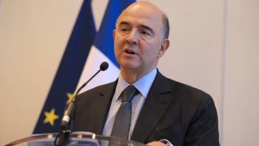 Pierre Moscovici présentait ses voeux, ce jeudi 23 janvier.
