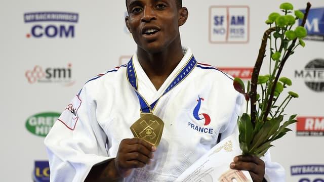 Loïc Korval, champion d'Europe des -66 kg