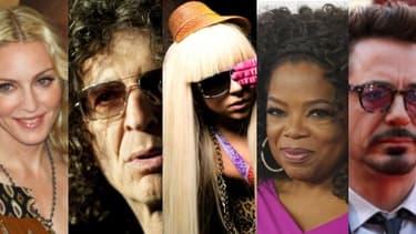 Les célébrités les mieux payés en 2013 ne sont pas forcément les plus connues...