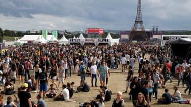Samedi 22 juillet, lors de la première édition du festival Lollapalooza, à Paris.