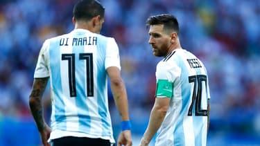 Di Maria et Messi