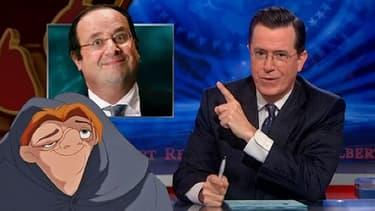 Le 15 janvier dernier, Stephen Colbert présentait un sketch féroce sur la chaîne Comedy Central dans lequel il comparaît François Hollande à Quasimodo.