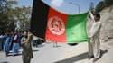 Des Afghans sont descendus dans les rues avec des drapeaux nationaux ce jeudi