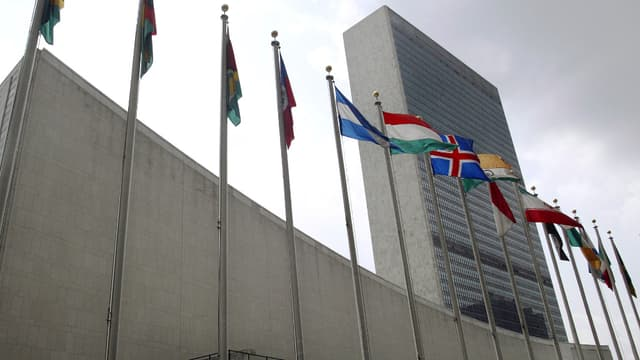 Le siège de l'ONU, à New York.