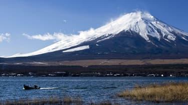 Le mont Fuji en décembre 2011.