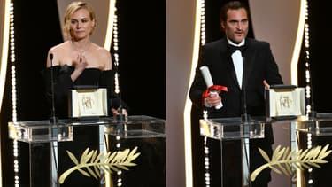 Diane Kruger et Joaquin Phœnix récompensés à Cannes