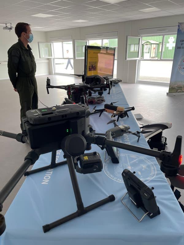 Les drones Parrot font partie de la panoplie d'outils utilisée par l'Armée de l'Air