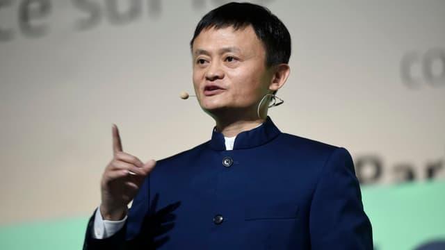 Le milliardaire chinois Jack Ma, fondateur d'Alibaba.