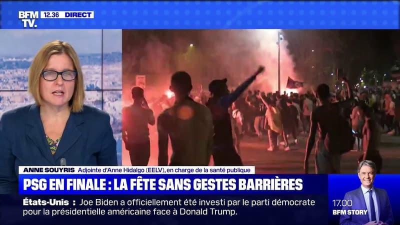 """Anne Souyris (adjointe à la mairie de Paris) sur la liesse après la victoire du PSG: """"La préfecture de police aurait dû faire de la prévention"""""""