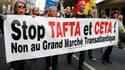 De nombreuses manifestations contre le Ceta sont organisées en France ou en Allemagne.