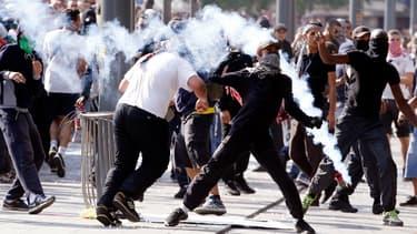 De nouveaux heurts ont éclaté, samedi, lors d'une manif Pro-Gaza interdite à Paris.