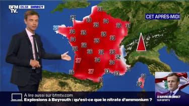 Jusqu'à 37°C... Les températures commencent à s'envoler ce jeudi