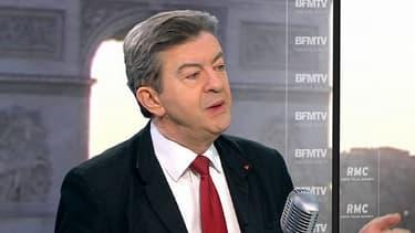 Jean-Luc Mélenchon ne mâche pas ses mots envers le chef de l'Etat.