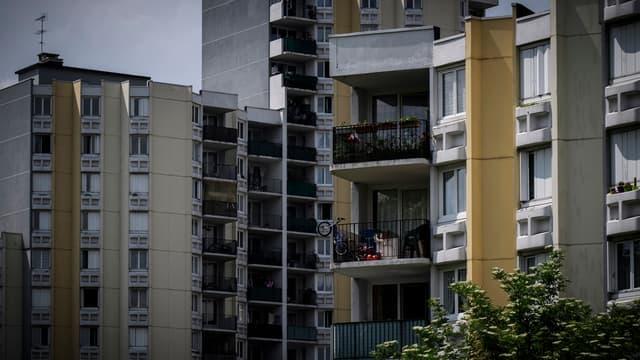 Une banlieue à Bobigny, en Seine-Saint-Denis (PHOTO D'ILLUSTRATION)